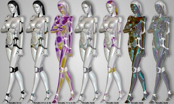 metallics andromedas