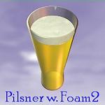 pilsner-foam
