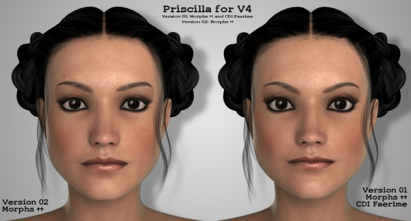 Priscilla-Versions