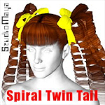 spiral-twin-tail-hair