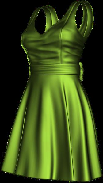 temp-satin grassy green