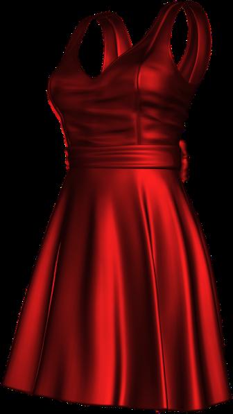 temp-satin red