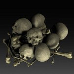 bone-pile