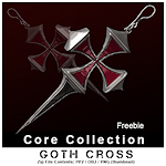 gothic-cross-earrings