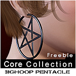 hoop-pentacle-earrings