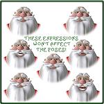 xmas-pos-3du-santa-expressions