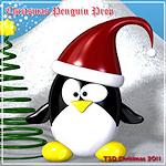 xmas-!toon-penguin
