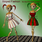 xmas-tx-evo-striped-dress