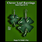 stpat_jewelry-Clover-Leaf-Earrings