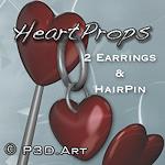 valday_jewelry-heart-pin-earrings