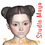 cinco_hair-twin-chignon