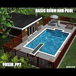 summer_scene-basicroom+pool