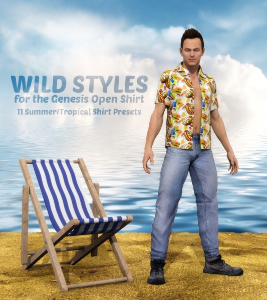 Wild Styles for the Genesis Open Shirt, DS4.6