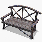 summer_props-rustic-park-bench