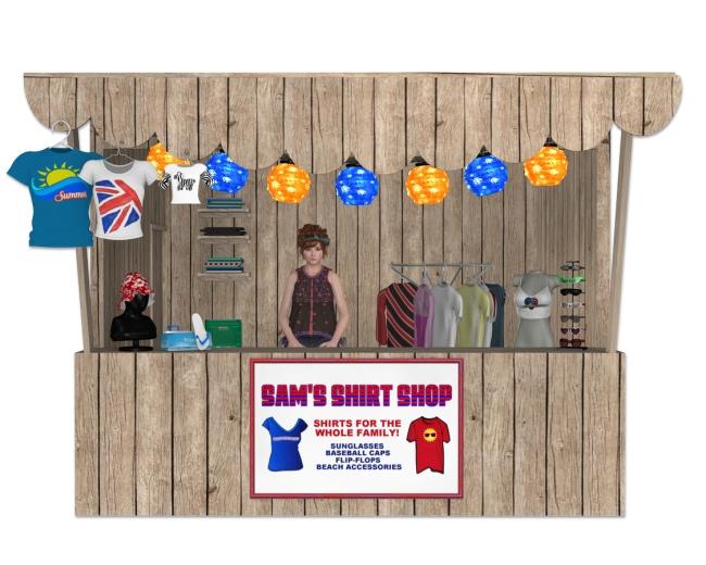 Sam's Shirt Shop
