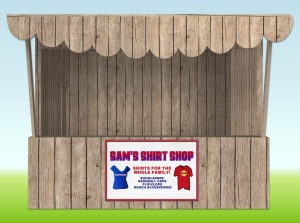 shirt-shop-with-poster