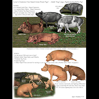 zoo_animals-Farm Pigs