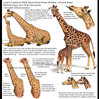 zoo_animals-Giraffes
