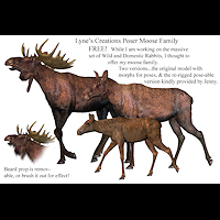 zoo_animals-Moose Family