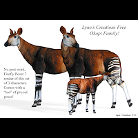 zoo_animals-Okapi Family