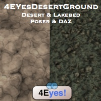 zoo_nature-desert lake bed ground