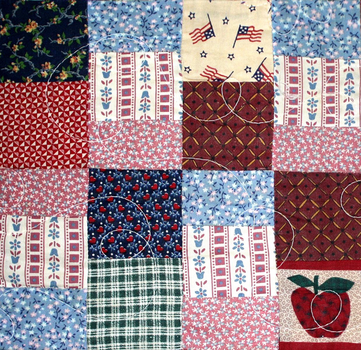 Quilt Block Patterns In Public Domain : Misc Tiles RedEyeCat