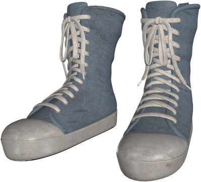 temp-khlwn shoes denim dirty