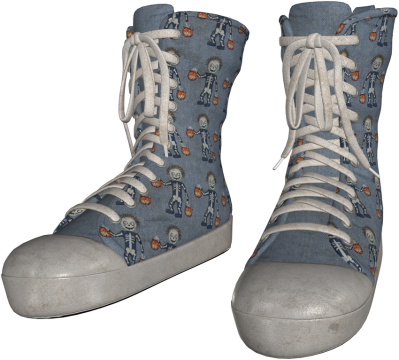 temp-khlwn shoes denim skelly dirty