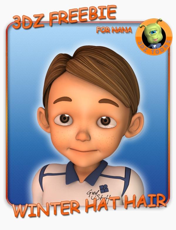 3DZ_Boy_Hair_Sam