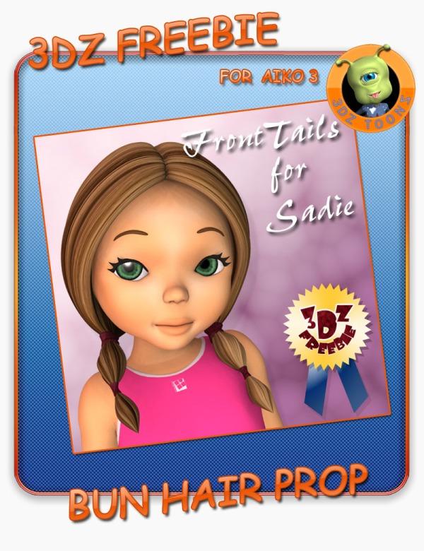 3DZ_Front_Tails_Sadie