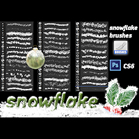 xmas2014_snowflake-brushes