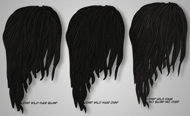Rope Hair - Chip Wild Hair