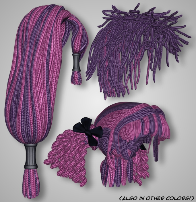 Rope Hair - Colors