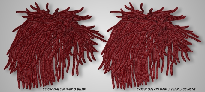 Rope Hair - Toon Salon Hair 3