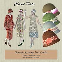 harlem_Headware-G1 20s Cloche