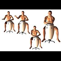 harlem_poses-bongo-drum