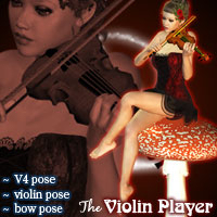 harlem_poses-violin-player