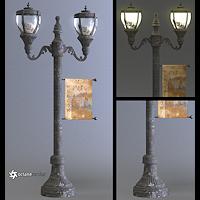 harlem_props-victorian street lamp