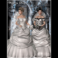 Clothes_V4 Wedding Dress