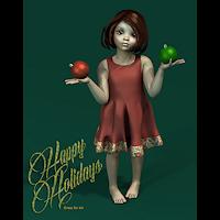 dolls_clothes-k4-Snowdrop Dress