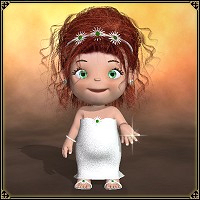 dolls_Clothes-Toon Baby Bride