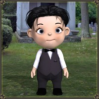 dolls_Clothes-Toon Baby Tux