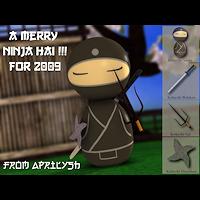 dolls_figures-Kokeshi Ninja