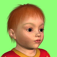dolls_hair-Baby Short Hair