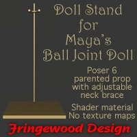 dolls_props-Doll Stand