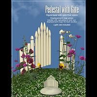 dolls_props-pedestal + gate