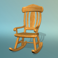 dolls_props-rocking chair