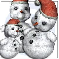 holidays-xmas snow baby