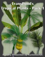 nature_rdna-tropical plants pack 1