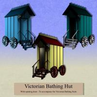 props-victorian bathing hut